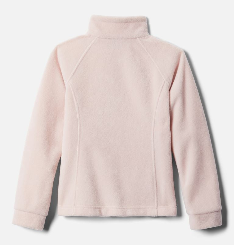 Benton Springs™ Fleece | 618 | S Girls' Benton Springs™ Fleece Jacket, Mineral Pink, back