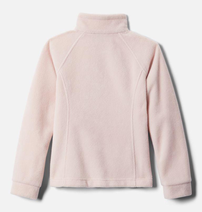 Benton Springs™ Fleece | 618 | L Girls' Benton Springs™ Fleece Jacket, Mineral Pink, back