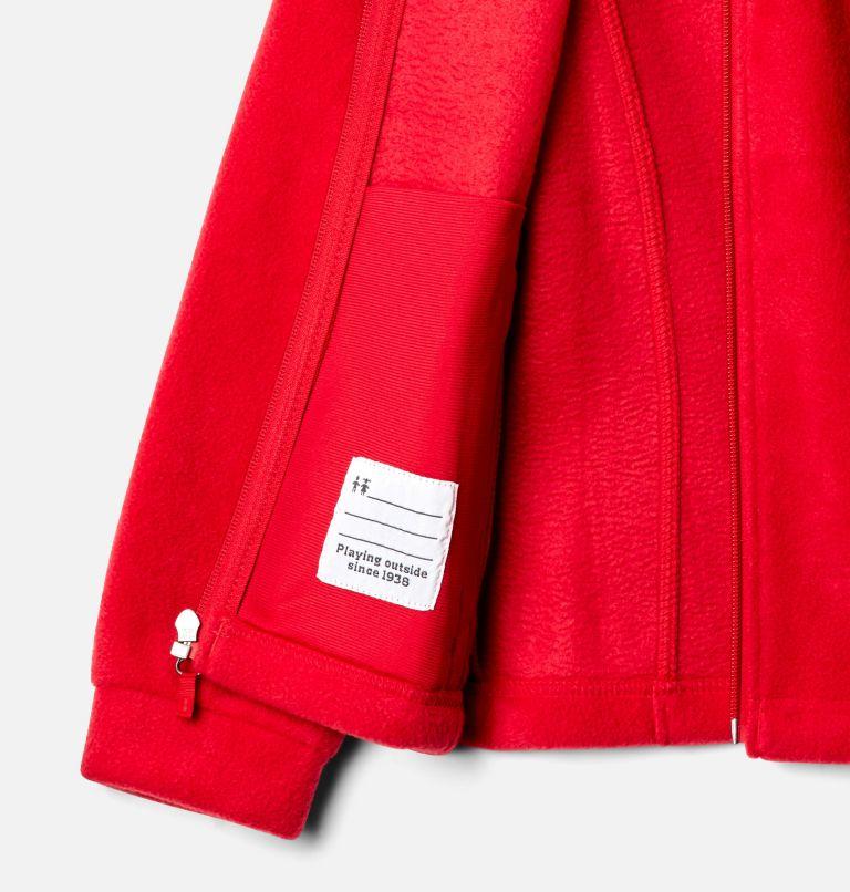 Benton Springs™ Fleece | 658 | L Girls' Benton Springs™ Fleece Jacket, Red Lily, a1