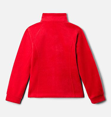 Girls' Benton Springs™ Fleece Jacket Benton Springs™ Fleece   667   XL, Red Lily, back