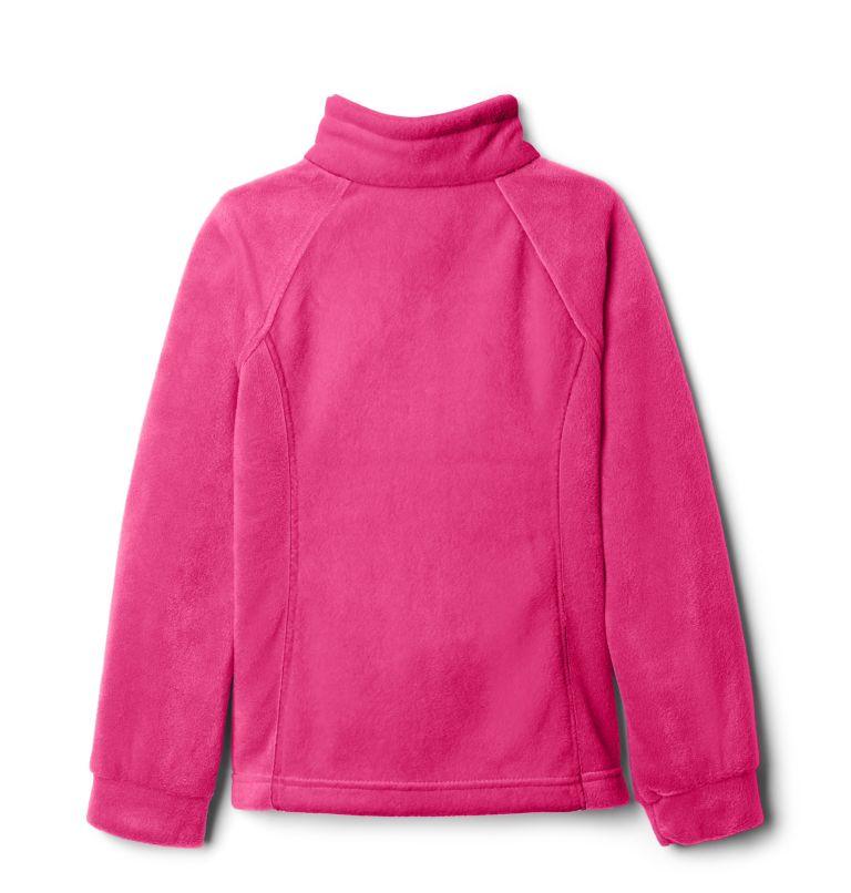 Benton Springs™ Fleece | 695 | S Girls' Benton Springs™ Fleece Jacket, Pink Ice, a1