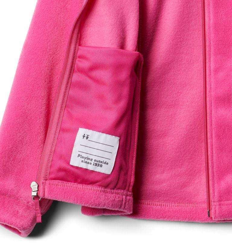 Benton Springs™ Fleece | 695 | S Girls' Benton Springs™ Fleece Jacket, Pink Ice, a2