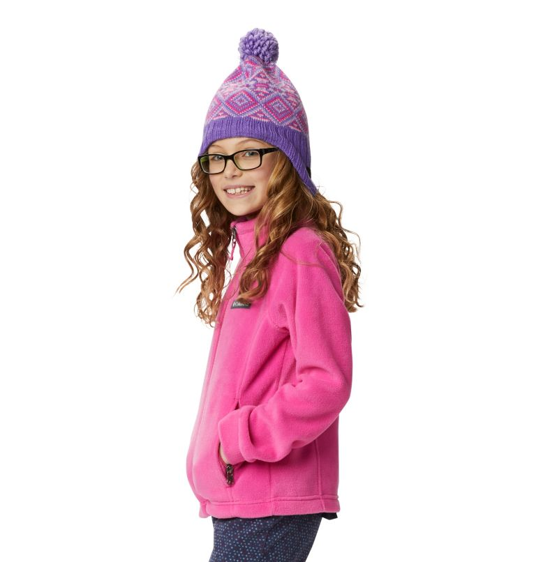 Benton Springs™ Fleece | 695 | XXS Girls' Benton Springs™ Fleece Jacket, Pink Ice, a6