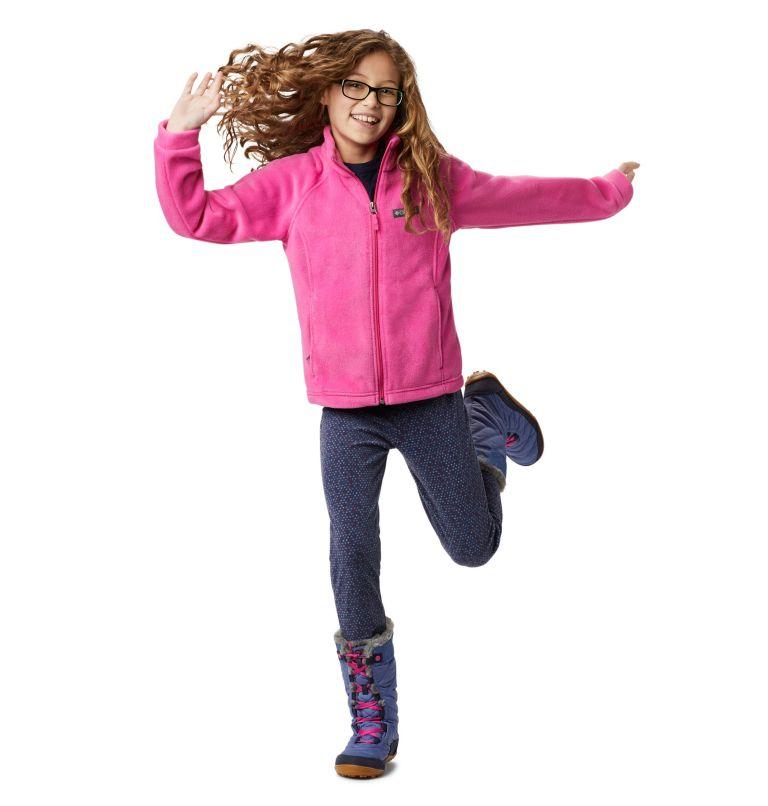 Benton Springs™ Fleece | 695 | S Girls' Benton Springs™ Fleece Jacket, Pink Ice, a7
