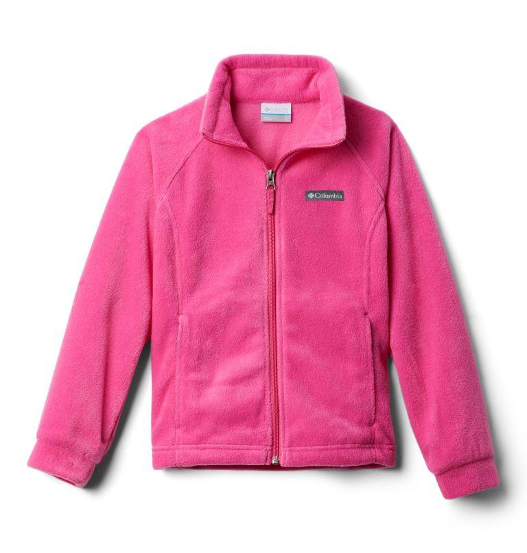 Benton Springs™ Fleece | 695 | S Girls' Benton Springs™ Fleece Jacket, Pink Ice, back
