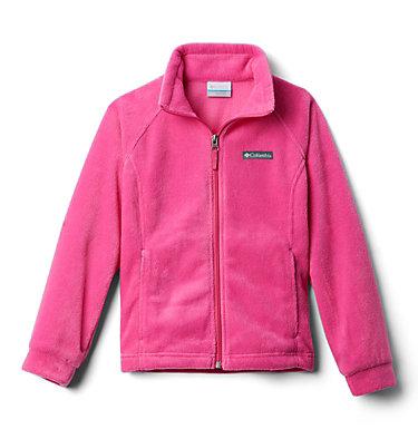 Girls' Benton Springs™ Fleece Jacket Benton Springs™ Fleece   667   XL, Pink Ice, 3/4 front