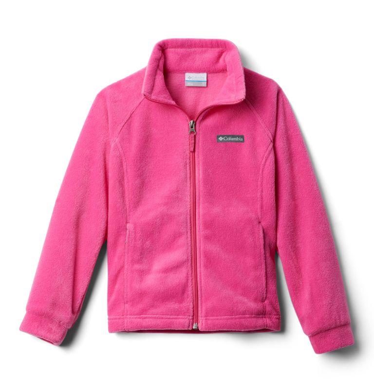 Benton Springs™ Fleece | 695 | S Girls' Benton Springs™ Fleece Jacket, Pink Ice, 3/4 front