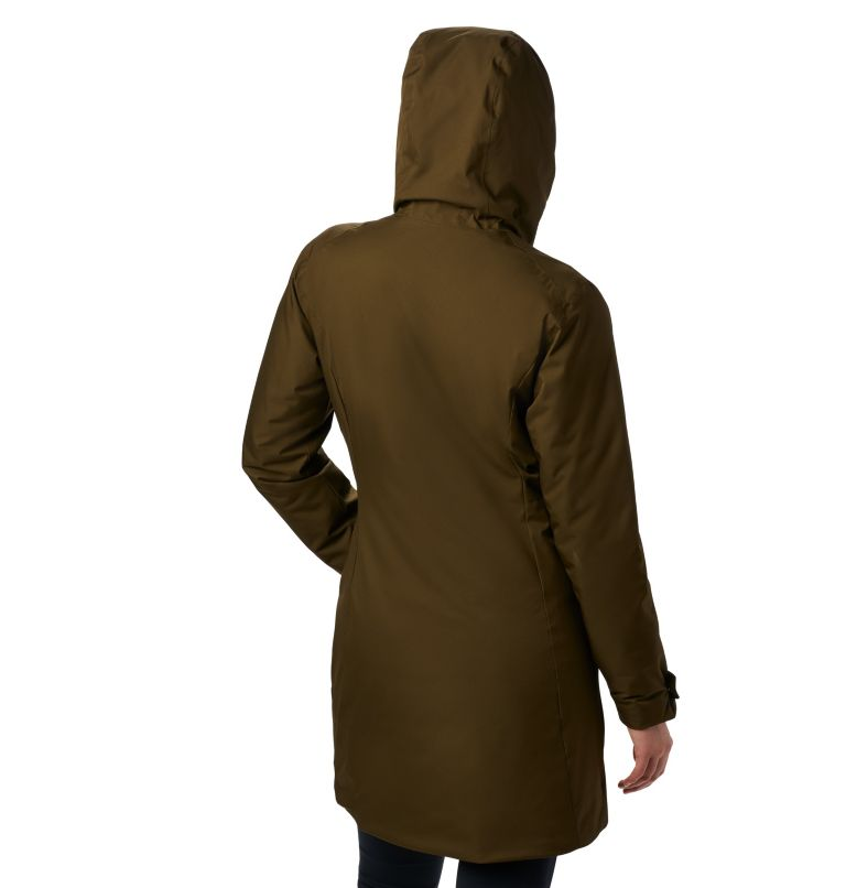 Autumn Rise™ Mid Jacket | 319 | XS Giacca Autumn Rise™ Mid da donna, Olive Green, back