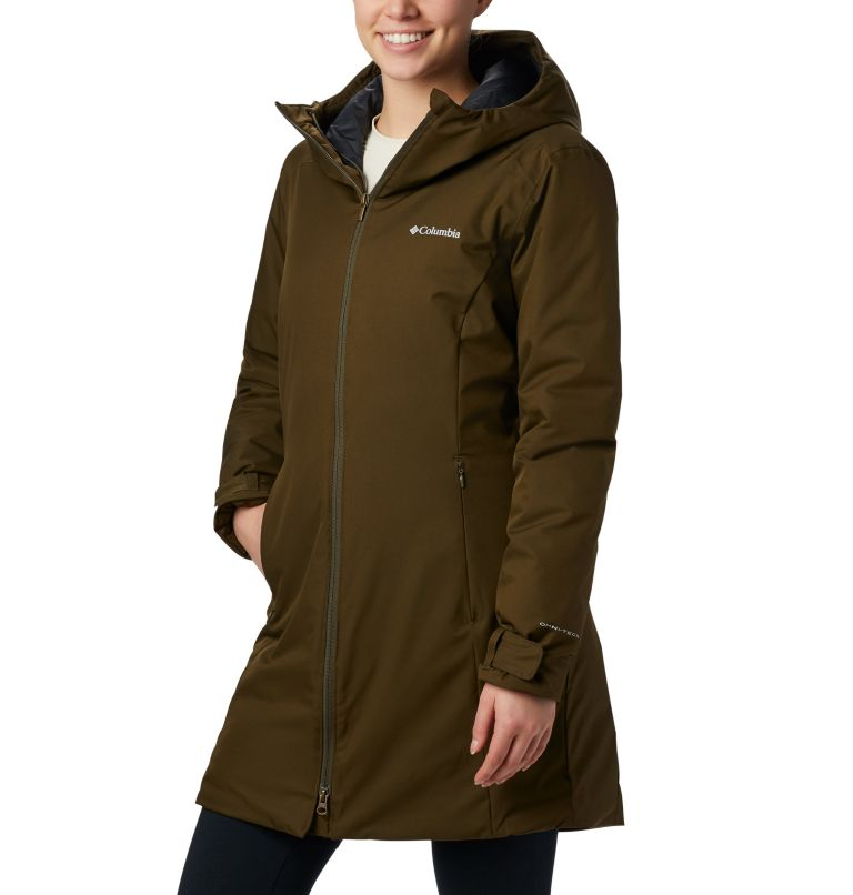Autumn Rise™ Mid Jacket | 319 | XS Giacca Autumn Rise™ Mid da donna, Olive Green, front