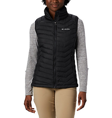 Powder Lite Weste für Frauen Powder Lite™ Vest | 011 | XS, Black, front