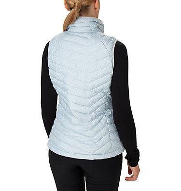 Powder Lite Weste für Frauen Powder Lite™ Vest | 607 | M, Cirrus Grey Sparkler Print, back