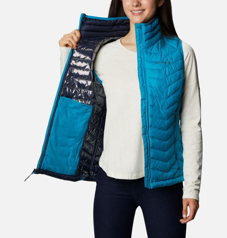 Powder Lite™ Vest | 462 | S Gilet Powder Lite da donna, Fjord Blue, a3