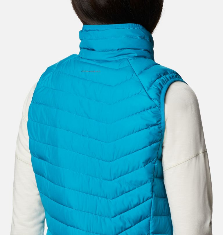 Powder Lite™ Vest | 462 | S Gilet Powder Lite da donna, Fjord Blue, a4