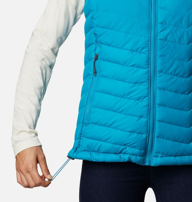 Powder Lite™ Vest | 462 | S Gilet Powder Lite da donna, Fjord Blue, a5