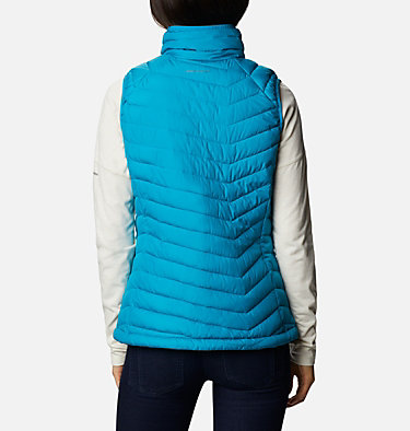 Powder Lite Weste für Frauen Powder Lite™ Vest | 011 | XS, Fjord Blue, back