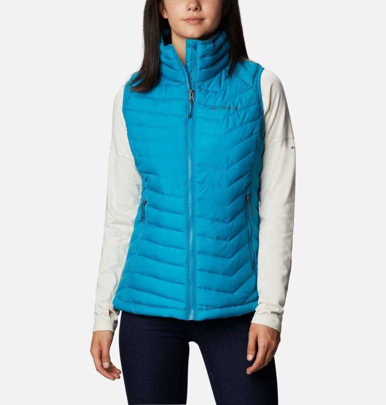 Powder Lite™ Vest | 462 | M Gilet Powder Lite da donna, Fjord Blue, front
