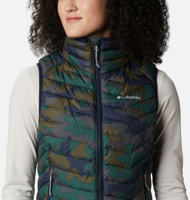 Powder Lite™ Vest | 472 | XS Gilet Powder Lite da donna, Dark Nocturnal Traditional Camo Print, a2