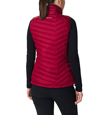 Powder Lite Weste für Frauen Powder Lite™ Vest | 011 | XS, Beet, back
