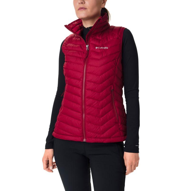 Powder Lite™ Vest | 607 | S Gilet Powder Lite™ da donna, Beet, front