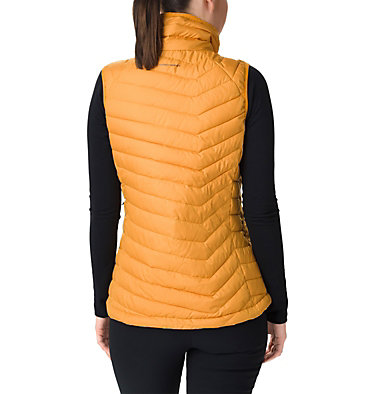 Veste sans manches Powder Lite femme Powder Lite™ Vest | 192 | XS, Raw Honey, back