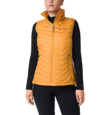 Veste sans manches Powder Lite femme Powder Lite™ Vest | 192 | XS, Raw Honey, front