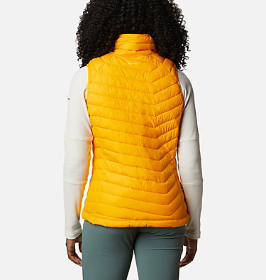 Powder Lite Weste für Frauen Powder Lite™ Vest | 011 | XS, Bright Marigold, back