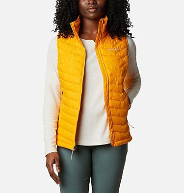 Women's Powder Lite Vest Powder Lite™ Vest | 192 | XS, Bright Marigold, front