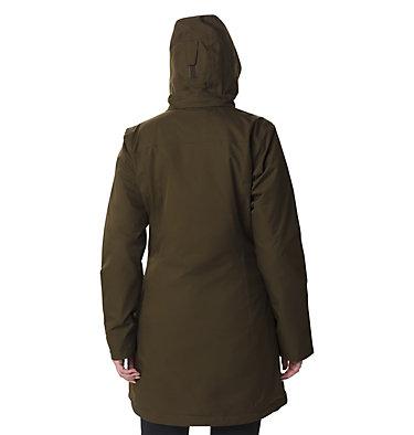 Salcantay™ Long 3-in-1 Jacke für Damen  Salcantay™ Long Hooded Interch | 319 | XS, Olive Green, back