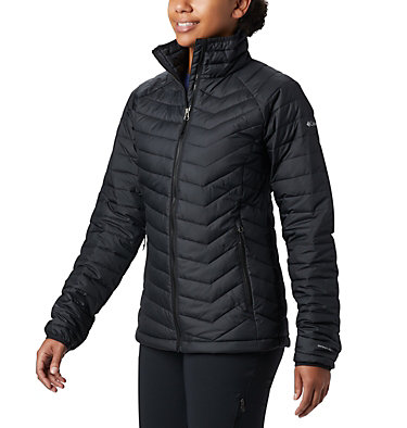 W Powder Lite™ Jacke für Damen Powder Lite™ Jacket | 575 | XS, Black, front
