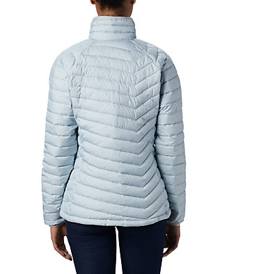 W Powder Lite™ Jacke für Damen Powder Lite™ Jacket | 575 | XS, Cirrus Grey Sparkler Print, back
