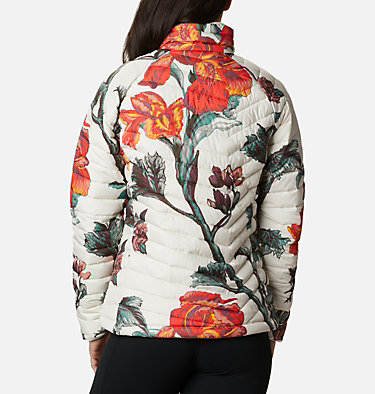 Giacca W Powder Lite™ da donna Powder Lite™ Jacket | 192 | XS, Chalk Botanica Print, back