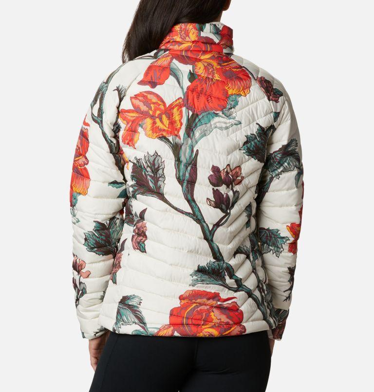 Powder Lite™ Jacket | 192 | M Veste isolée Powder Lite™ Femme, Chalk Botanica Print, back