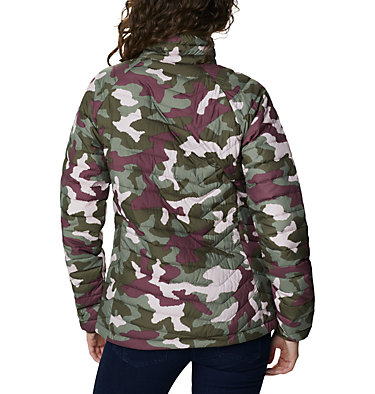 Veste isolée Powder Lite™ Femme Powder Lite™ Jacket | 192 | XS, Olive Green Traditional Camo, back