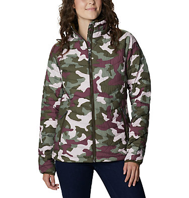 Veste isolée Powder Lite™ Femme Powder Lite™ Jacket | 192 | XS, Olive Green Traditional Camo, front