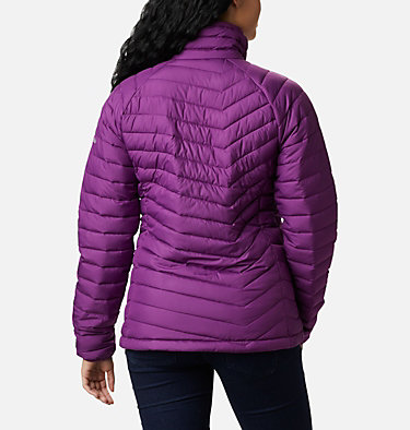 W Powder Lite™ Jacke für Damen Powder Lite™ Jacket | 575 | XS, Plum, back
