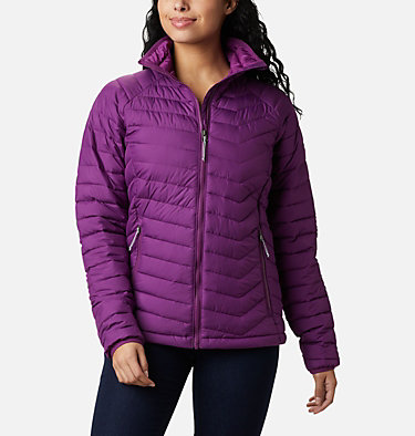 W Powder Lite™ Jacke für Damen Powder Lite™ Jacket | 192 | XS, Plum, front