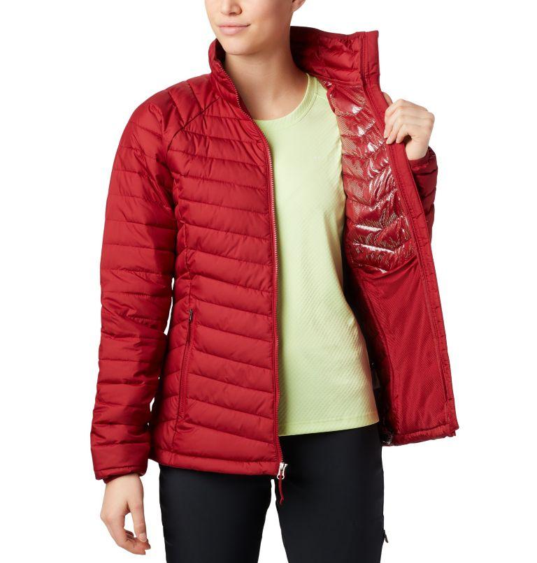 Powder Lite™ Jacket | 607 | XS Veste isolée Powder Lite™ Femme, Beet, a2