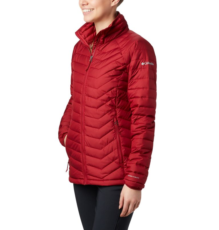 Powder Lite™ Jacket | 607 | XS Veste isolée Powder Lite™ Femme, Beet, front