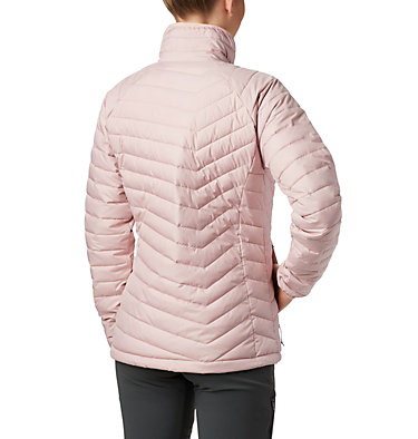 W Powder Lite™ Jacke für Damen Powder Lite™ Jacket | 575 | XS, Dusty Pink, back