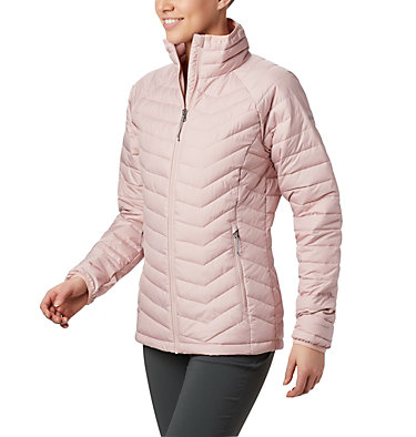 W Powder Lite™ Jacke für Damen Powder Lite™ Jacket | 575 | XS, Dusty Pink, front
