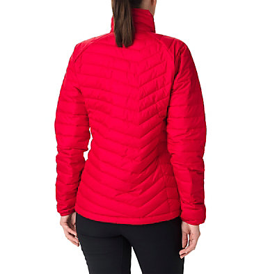 W Powder Lite™ Jacke für Damen Powder Lite™ Jacket | 575 | XS, Red Lilly, back