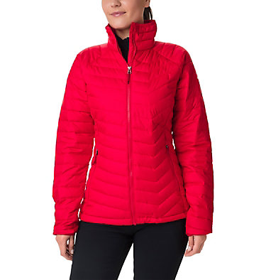 W Powder Lite™ Jacke für Damen Powder Lite™ Jacket | 575 | XS, Red Lilly, front
