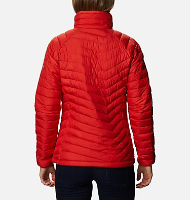 W Powder Lite™ Jacke für Damen Powder Lite™ Jacket | 575 | XS, Bold Orange, back
