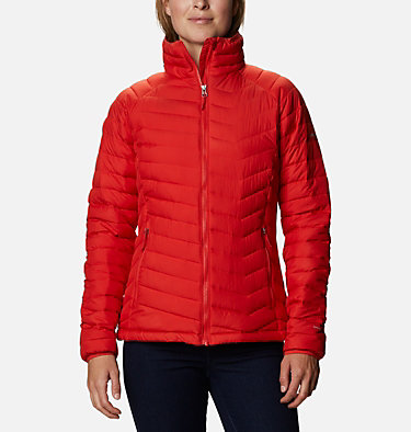 W Powder Lite™ Jacke für Damen Powder Lite™ Jacket | 575 | XS, Bold Orange, front