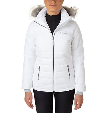 Ponderay™ Skijacke für Damen Ponderay™ Jacket | 101 | XL, White, front