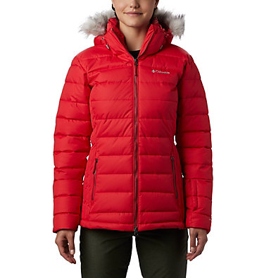 Ponderay™ Skijacke für Damen Ponderay™ Jacket | 101 | XL, Red Lily, front