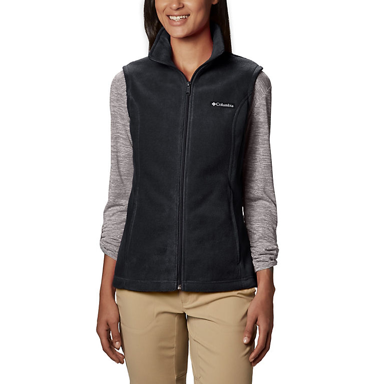 Black Columbia Womens Benton Springs Vest Large