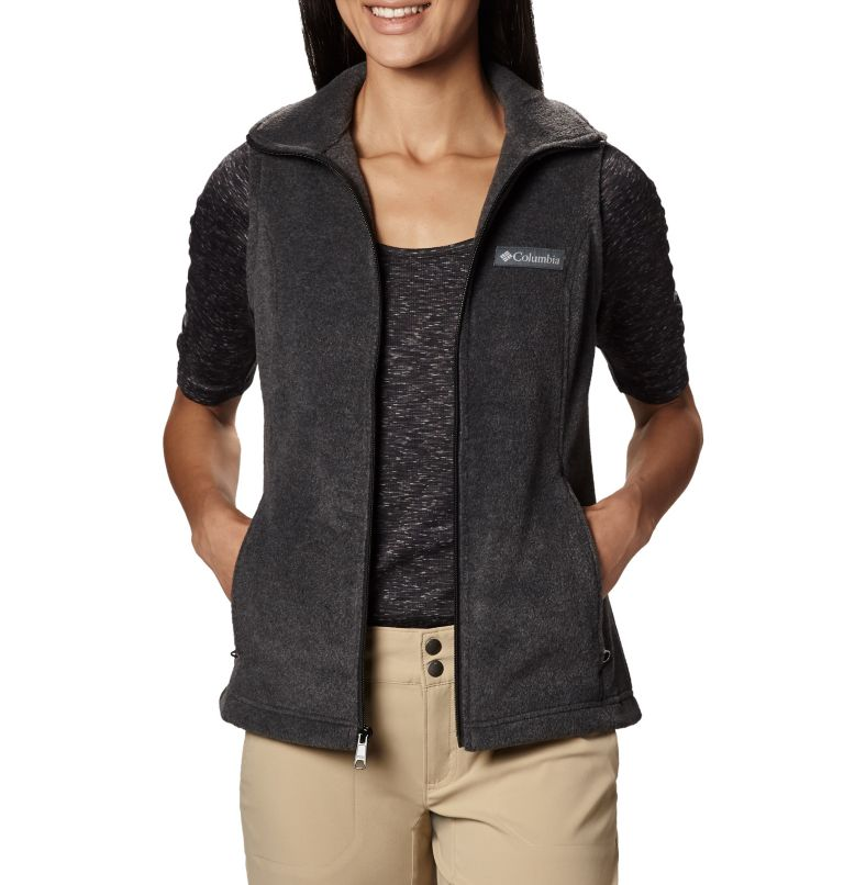Benton Springs™ Vest | 030 | XS Women's Benton Springs™ Vest, Charcoal Heather, a1