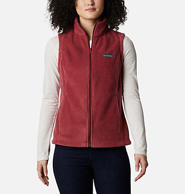 Women's Benton Springs™ Vest Benton Springs™ Vest | 618 | L, Marsala Red, front