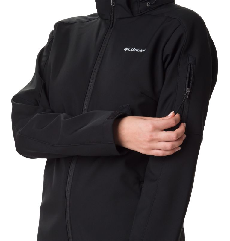 Cascade Ridge™ Jacket | 010 | L Softshell Cascade Ridge™ Femme , Black, a3